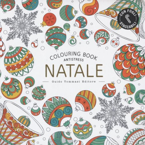 Natale. Colouring book antistress.