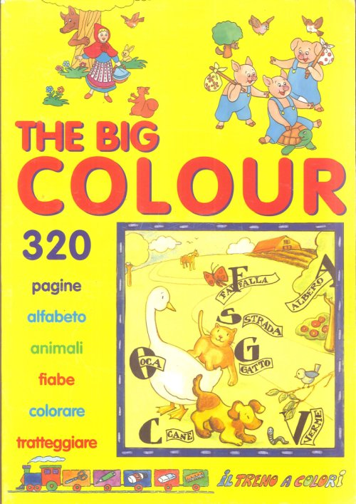 The Big Colour. 320 Pagine Da Colorare.