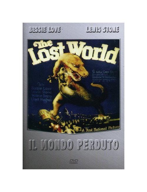 The Lost World. Il Mondo Perduto. (1925) DVD.