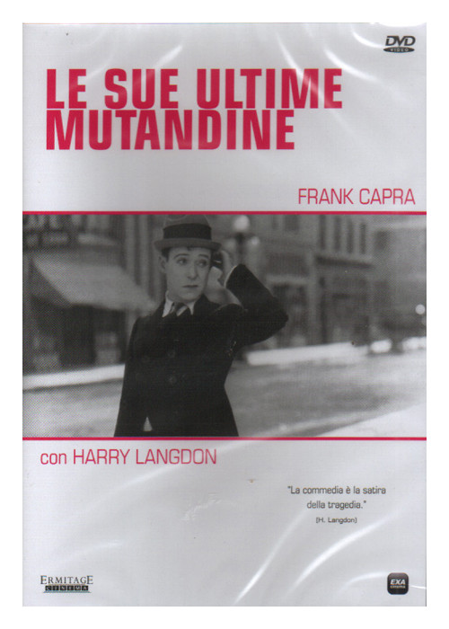 Le Sue Ultime Mutandine. DVD.