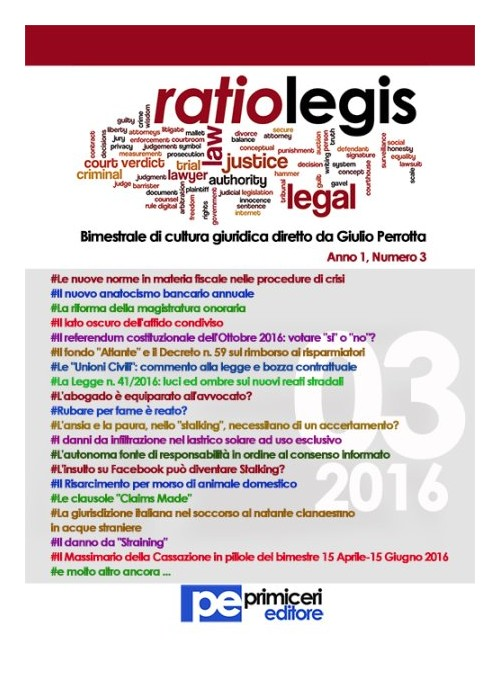 Ratio legis (2016). Vol. 3.