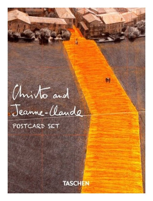 Christo and Jeanne-Claude. Postcard set.