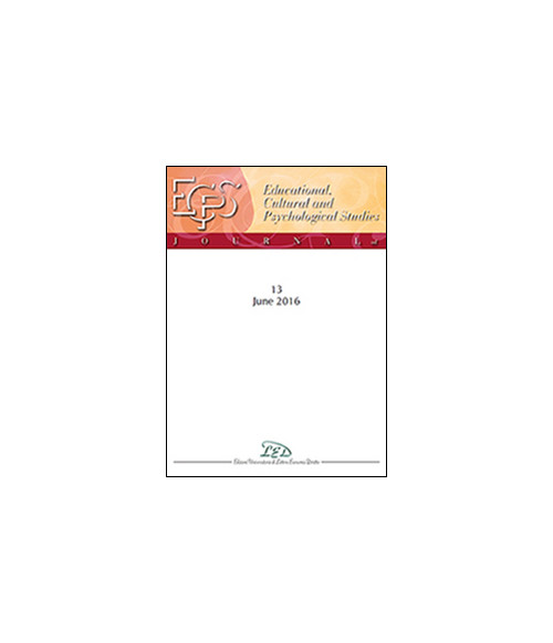 Journal of educational, cultural and psychological studies (ECPS Journal) (2016). Vol. 13.