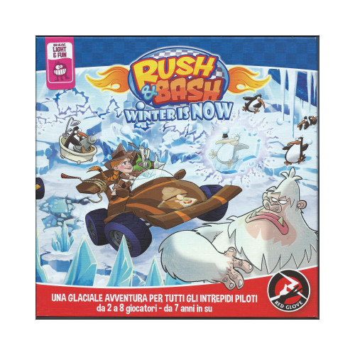 Rush & Bash - Winter Is Now. [Espansione per Rush & Bash].