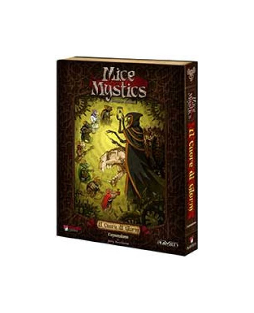 Mice and Mystics. Il Cuore di Glorm + Il Fantasma di Caster Andom. [Espansione per Mice and Mystics].