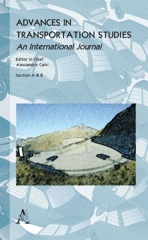Advances in transportation studies. An international journal (2016). Vol. 34.