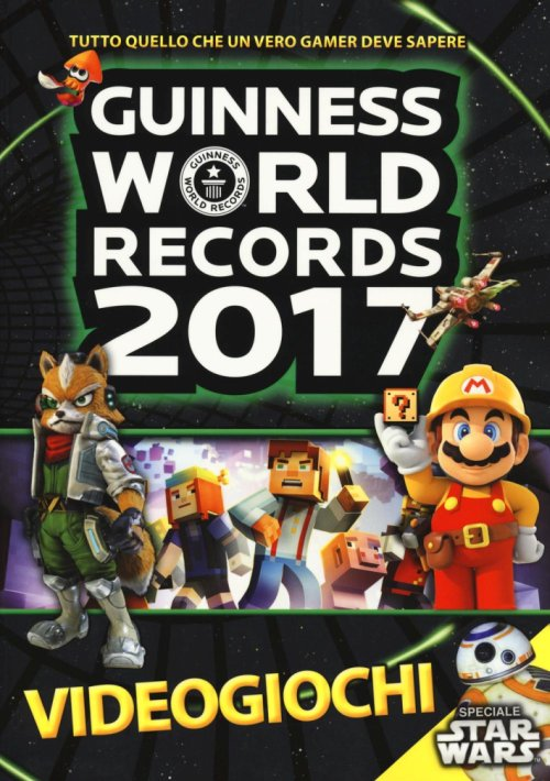 Guinness World Records 2017 videogiochi.