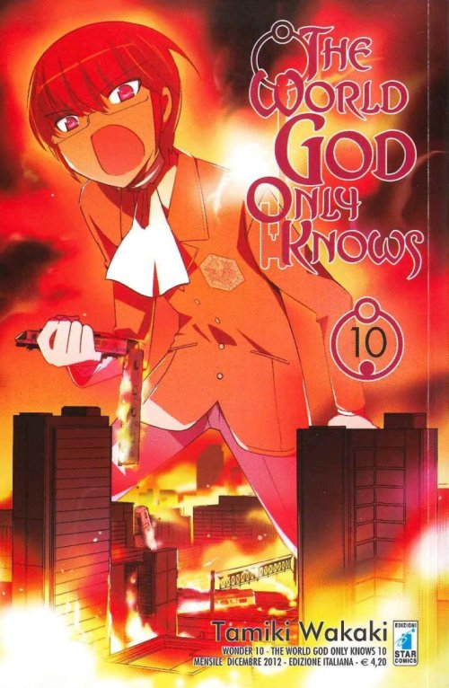 The world god only knows. Vol. 10.