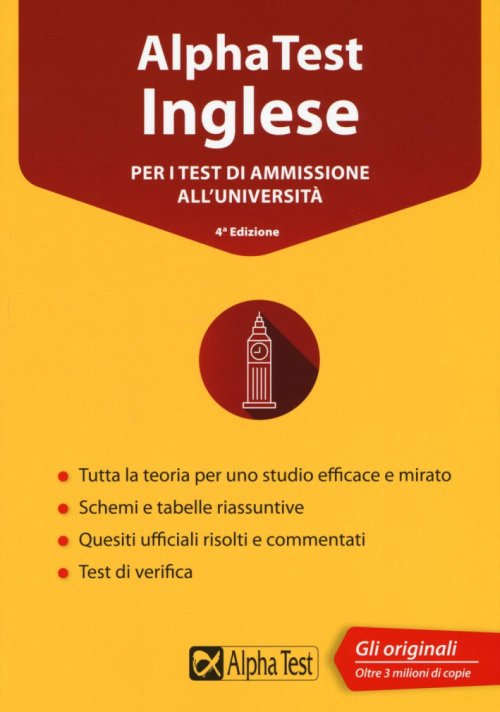 Alpha Test inglese. Per i test di ammissione all'università.