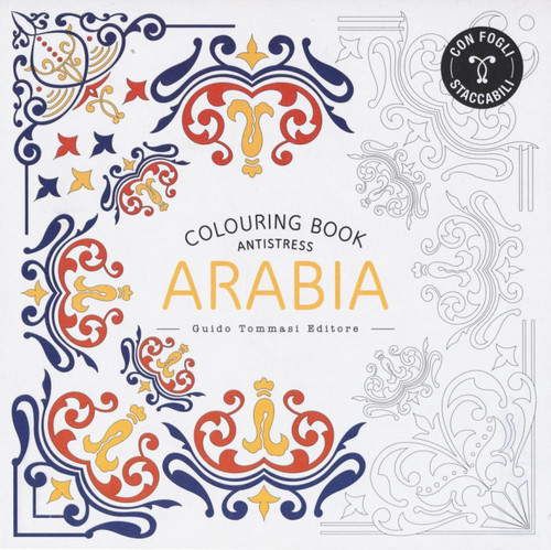 Arabia. Colouring book.