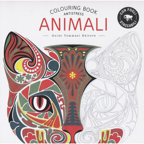 Animali. Colouring book.
