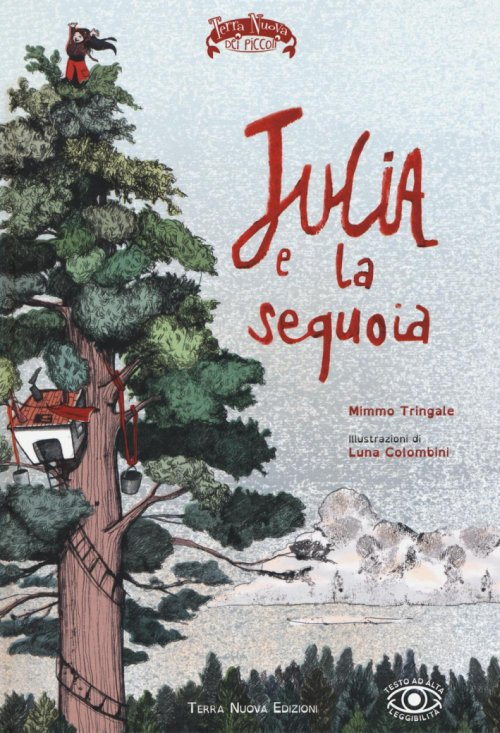 Julia e la sequoia.