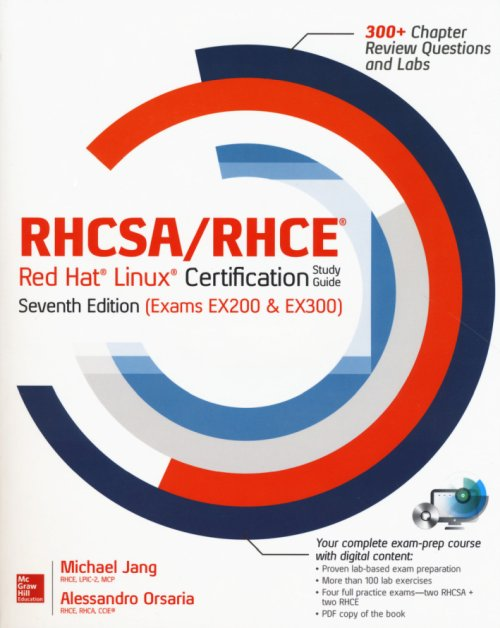 RHCSA/RHCE Red Hat Linux Certification Study Guide.