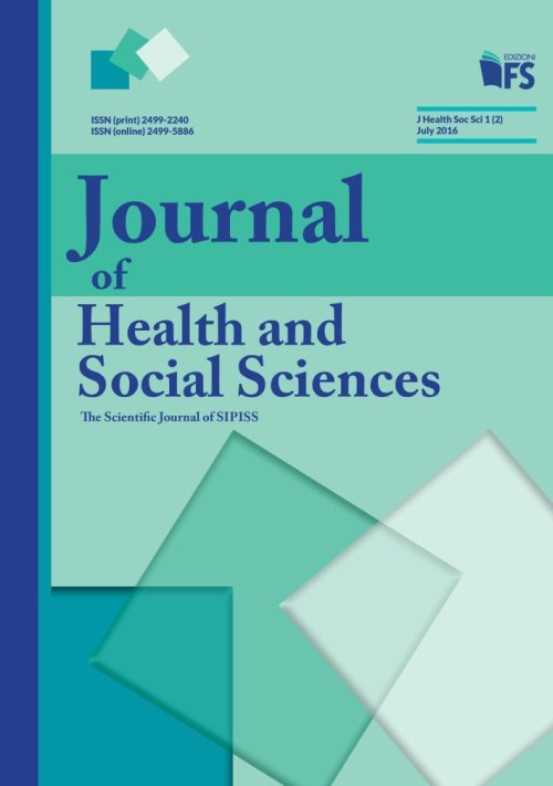 Journal of health and social sciences. July 2016.