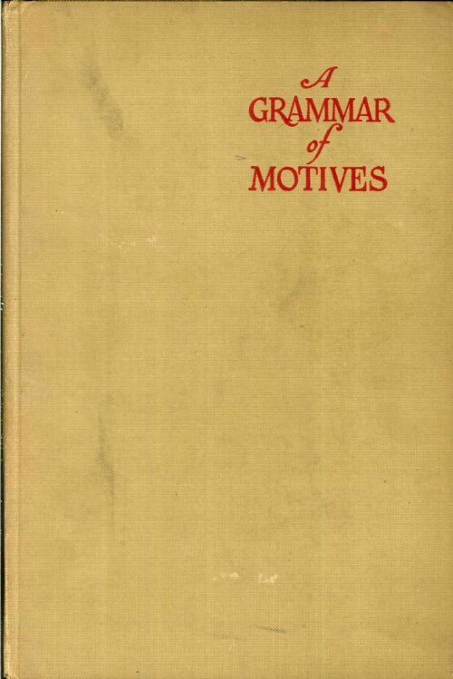 A Grammar of Motives.