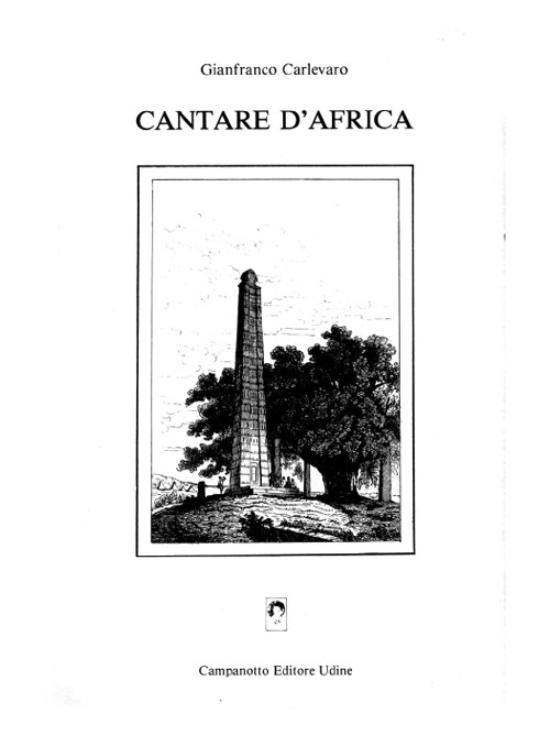 Cantare d'africa.