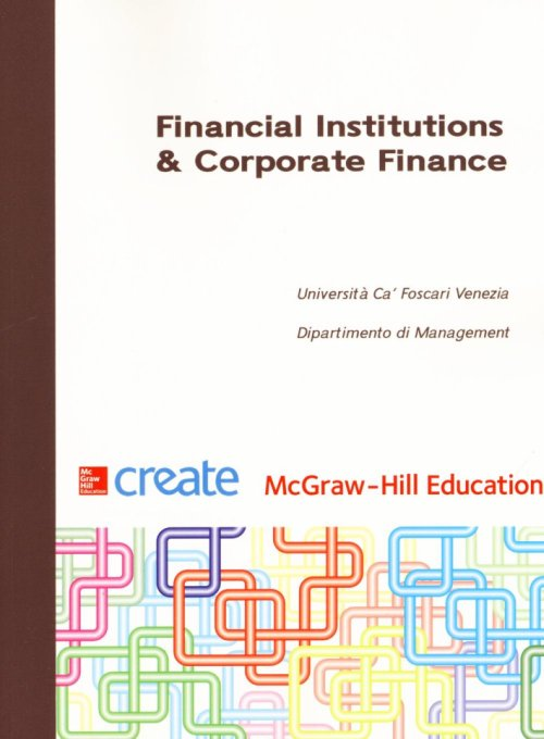 Corporate finance and financial institutions.
