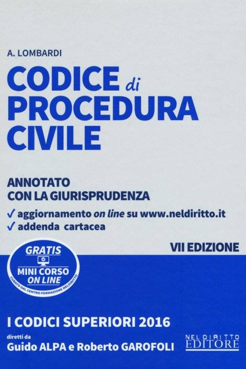 Codice di procedura civile.