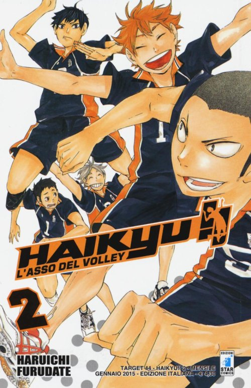 Haikyu!!. Vol. 2.