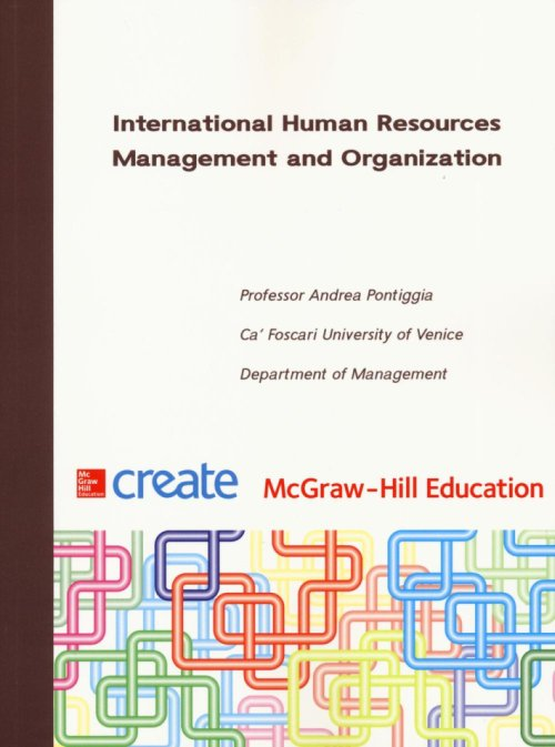 International human resources management and organizational behavior. Connect bundle.