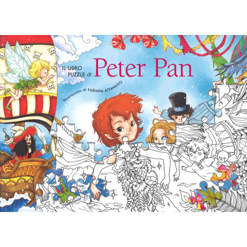 Il libro puzzle diPeter Pan.