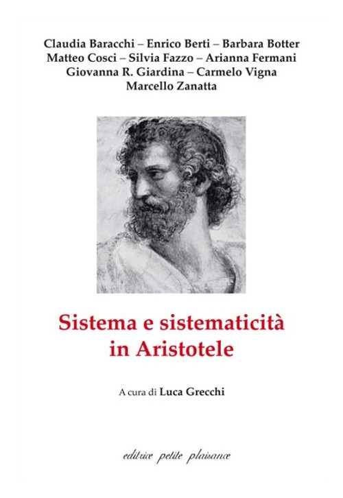 Sistema e sistematicità in Aristotele.