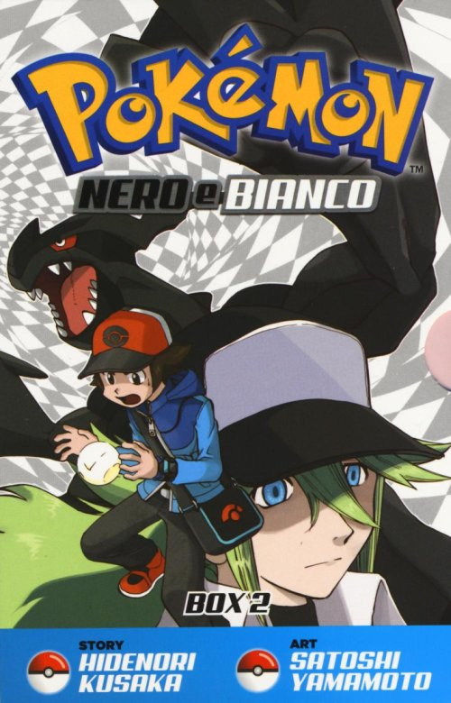 Pokemon nero e bianco. Box 2 vol. 1-10.