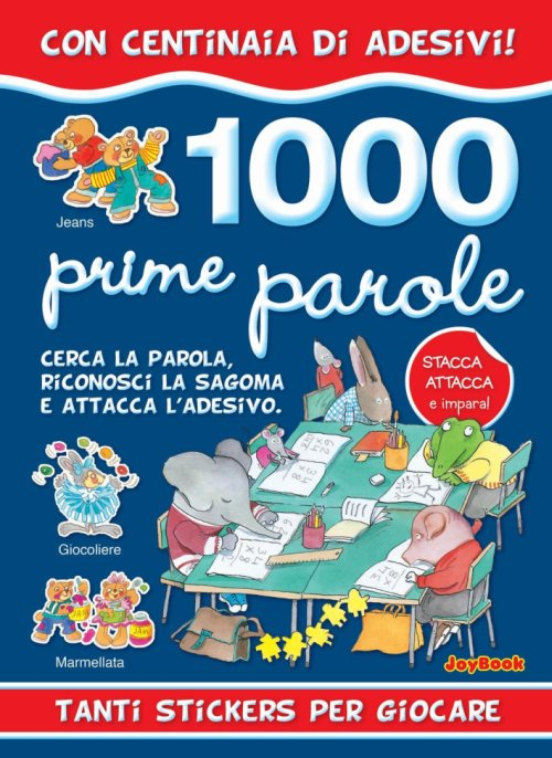 1000 prime parole stickers.