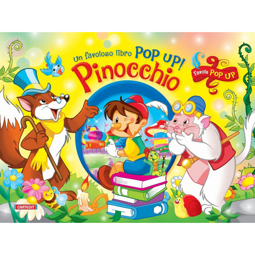 Pinocchio. Pop-up.