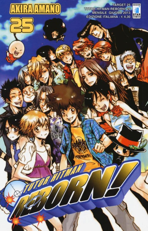 Tutor Hitman Reborn. Vol. 25.
