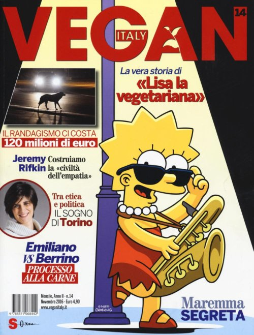 Vegan Italy (2016). Vol. 14.
