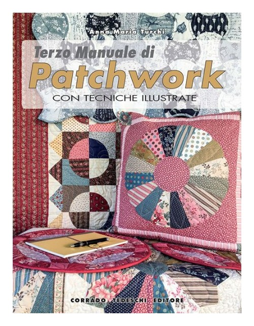 Terzo manuale di patchwork con tecniche illustrate.