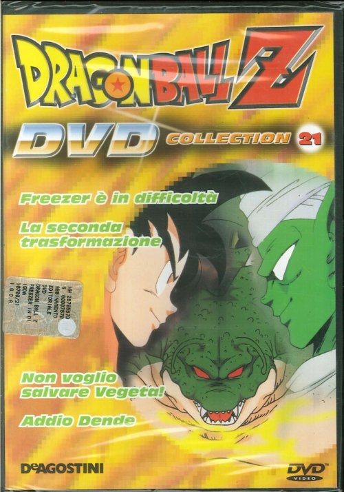 Dragonball Z Collection 21. DVD.
