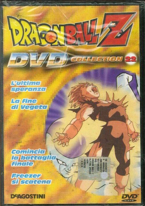 Dragonball Z Collection 22. DVD.
