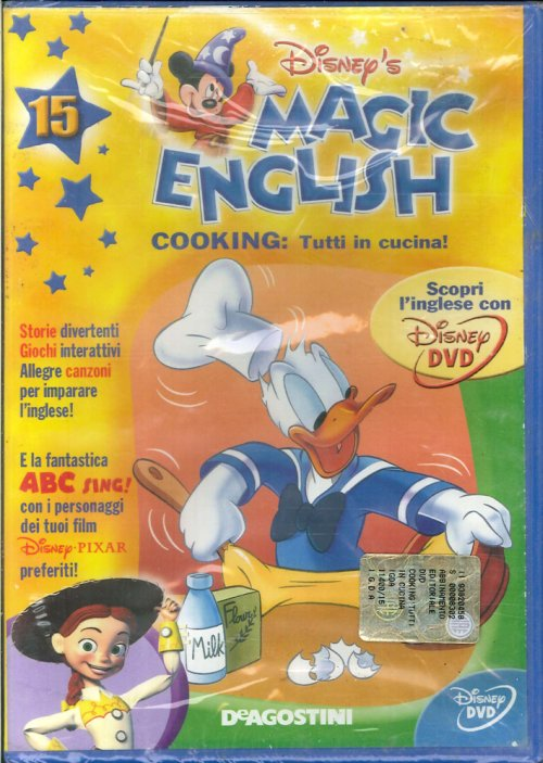 Magic English. Cooking: Tutti in Cucina! Volume 15 - DVD.
