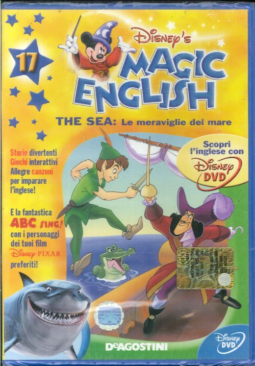 Magic English. The sea: le meraviglie del mare. Volume 17- DVD.