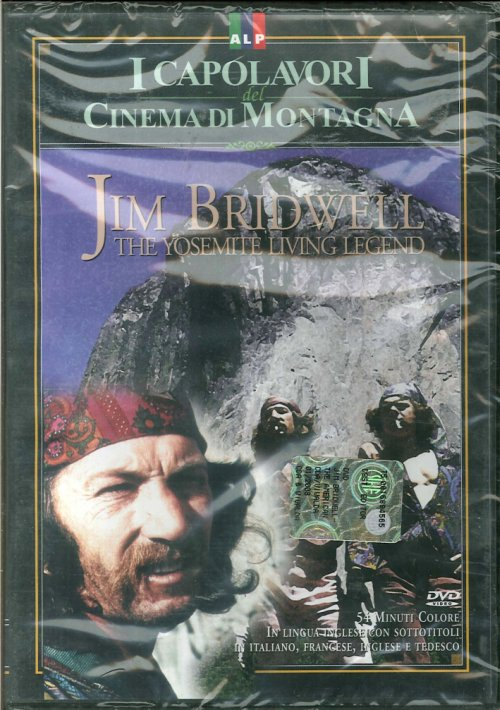 Jim Bridwell. The Yosemite Living Legend. I Capolavori del Cinema di Montagna. DVD.