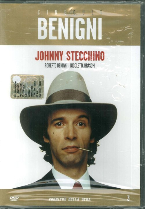 Cine Cult Benigni - Johnny Stecchino. DVD.