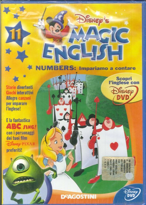 Magic English. Numbers: Impariamo a Contare. Volume 11- DVD.
