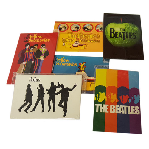 The Beatles. Magneti. Confezione 6 Blister.