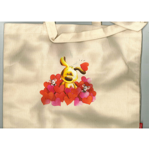 Shopping Bag in Cotone. Cagnolino. Legami. Cm35x38.