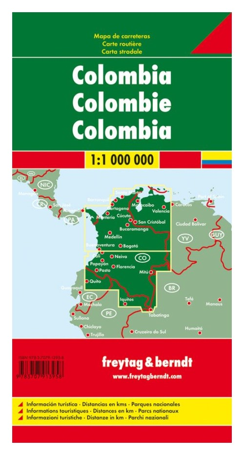 Colombia 1:1.000.000.