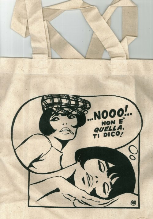 Shopping Bag in Cotone.