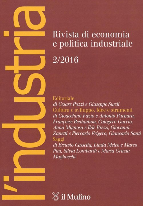 L'industria (2016). Vol. 2.