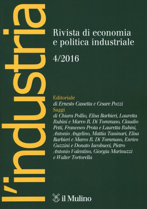 L'industria (2016). Vol. 4.