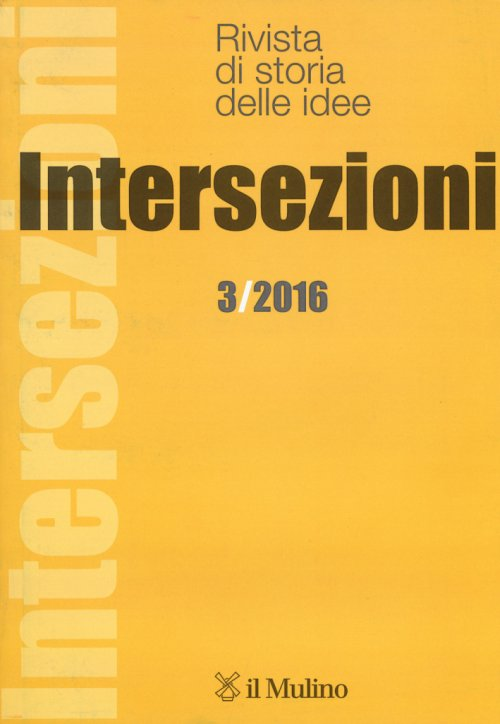 Intersezioni (2016). Vol. 3.