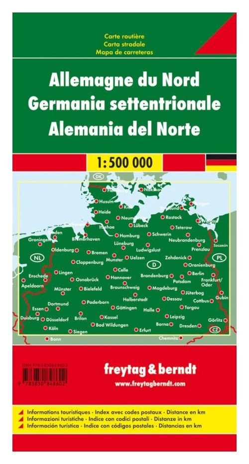 Germania Nord 1:500.000.