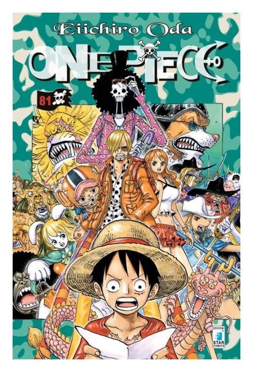 One piece. Vol. 81.