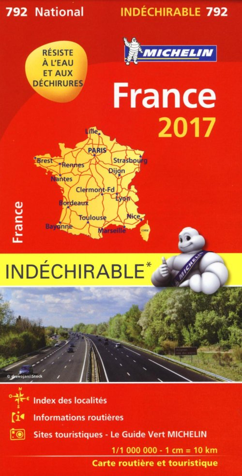 France 2017 - High Resistance National Map 792.