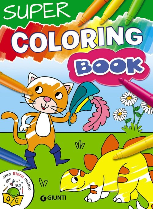 Supercoloring book